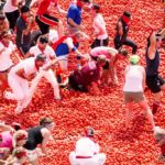 La Tomatina is the biggest food fight in Spain