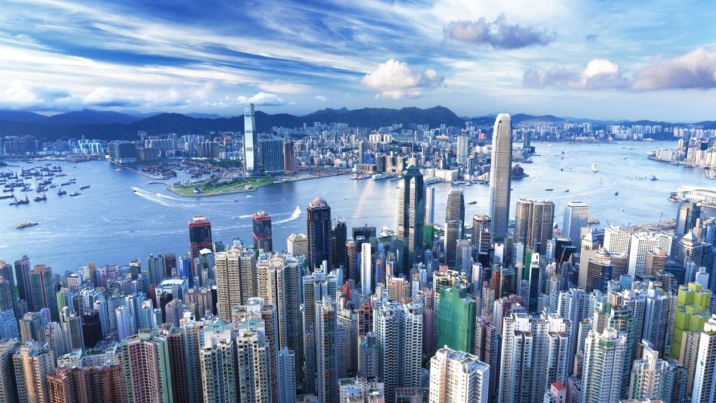 Hongkong Top Never sleep Cities