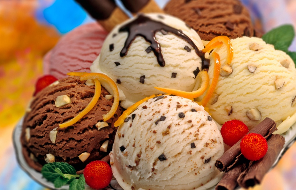 Delicious Variety of Ice-Cream All over the World