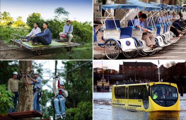 Unusual Public Transport From Around The World
