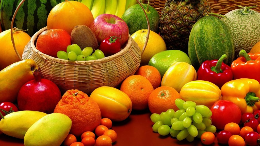 Fruits and vegetables fresh