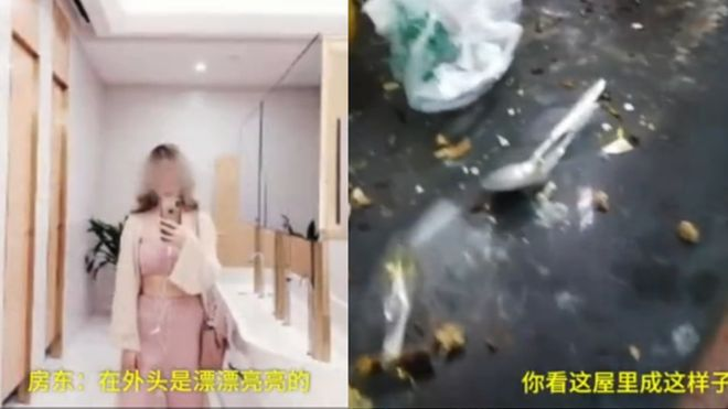 Lisa Li: Angry landlord exposes online Celebrity's'double life