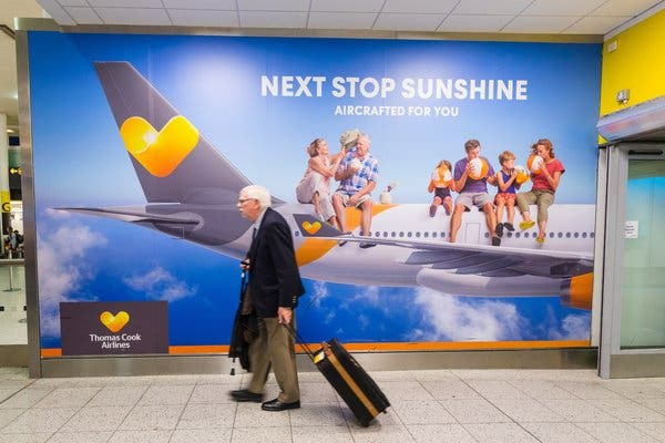 Thomas Cook Meltdown: German company files for bankruptcy