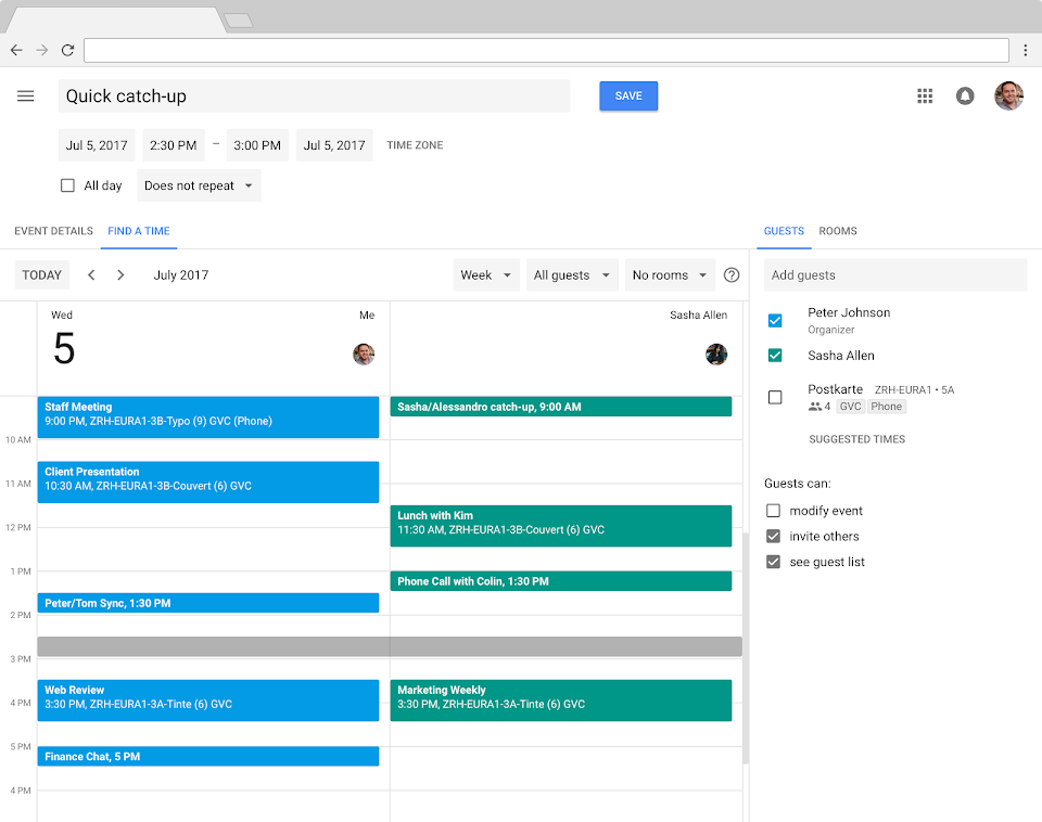 Google Employees accuse the company on spying by creating new calendar extension