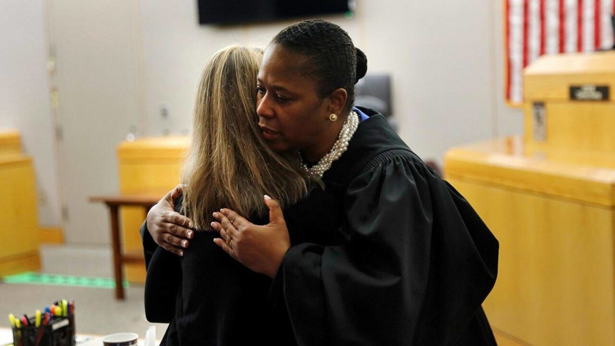 Judge hugs Amber Guyger, gives her Bible after murder Certainty
