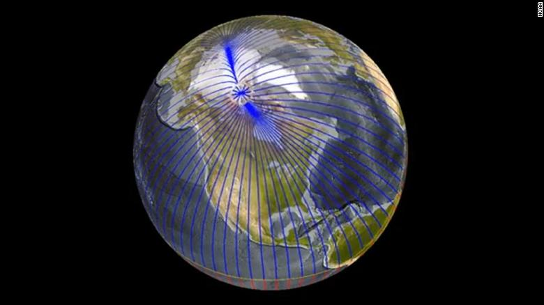 Earth's magnetic north pole