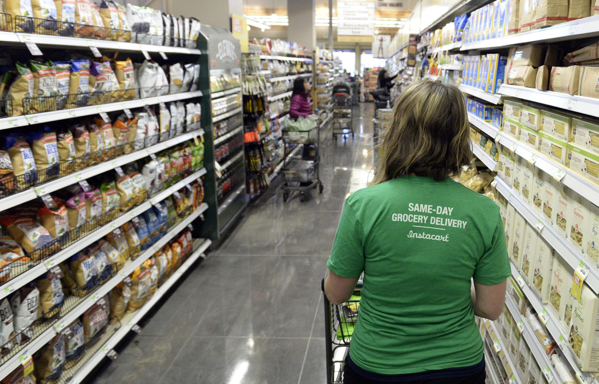 Grocery and Delivery Workers Unhappy