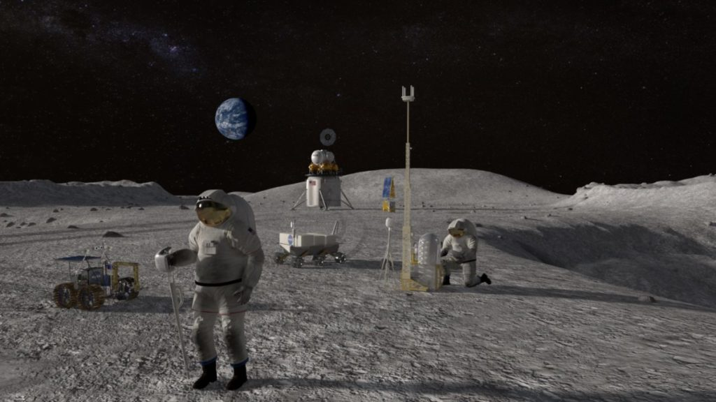 NASA Planning a Moon Base Camp