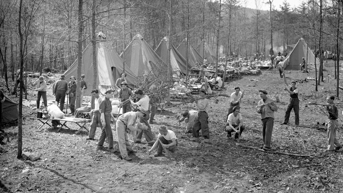 New Deal-Era Civilian Conservation Corps: Photos, Projects