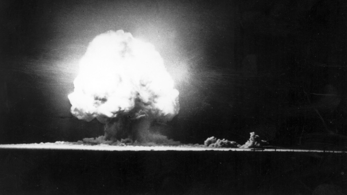 First Atomic Bomb Test Is Successfully Exploded