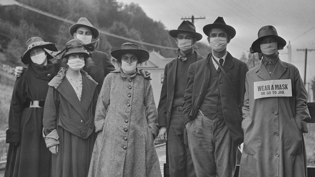 During the 1918 Pandemic, 'Mask Slackers' Were Labeled as Unpatriotic