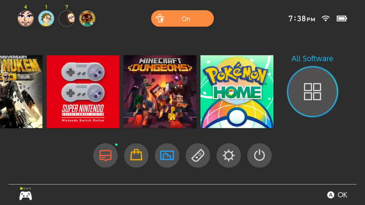 Nintendo Switch Select All Software