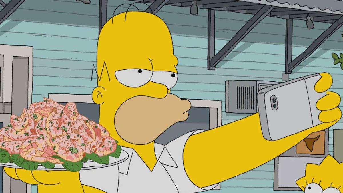 The Simpsons: that hidden detail on Homer's face that you may not have noticed - news series on tv
