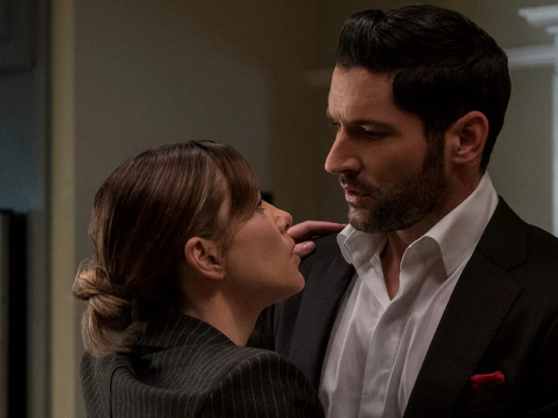 Lucifer season 5: behind the scenes of the sex scene between Lucifer and Chloe - News Series on TV