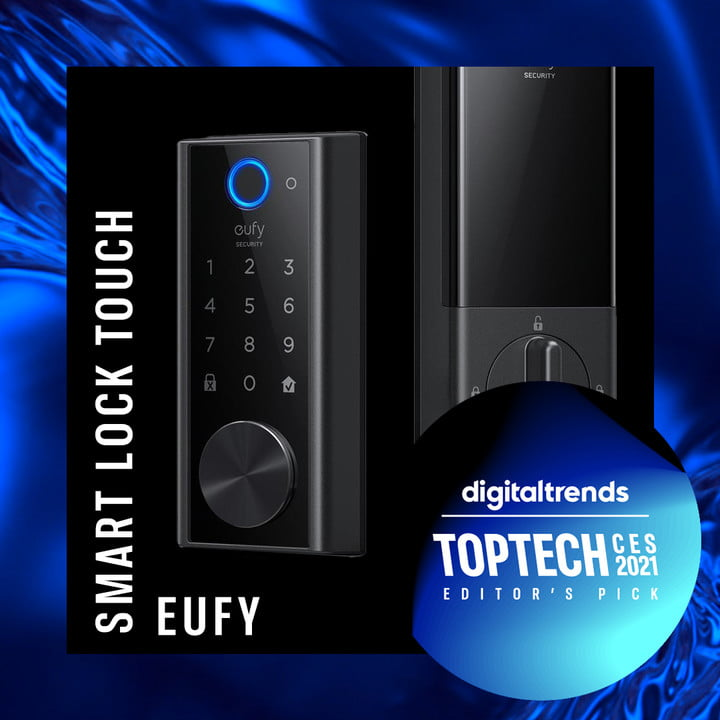ces2021 eufy smart touch lock