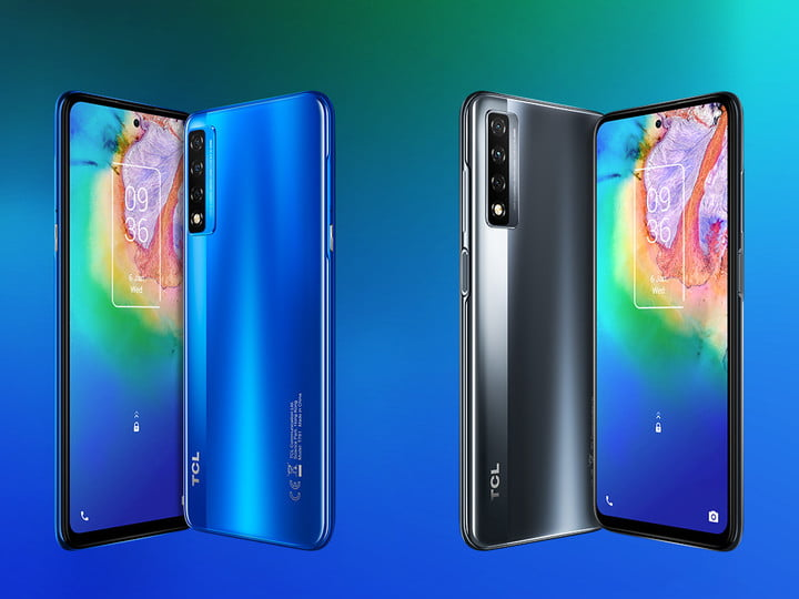 TCL 20 Series smartphones at CES 2021