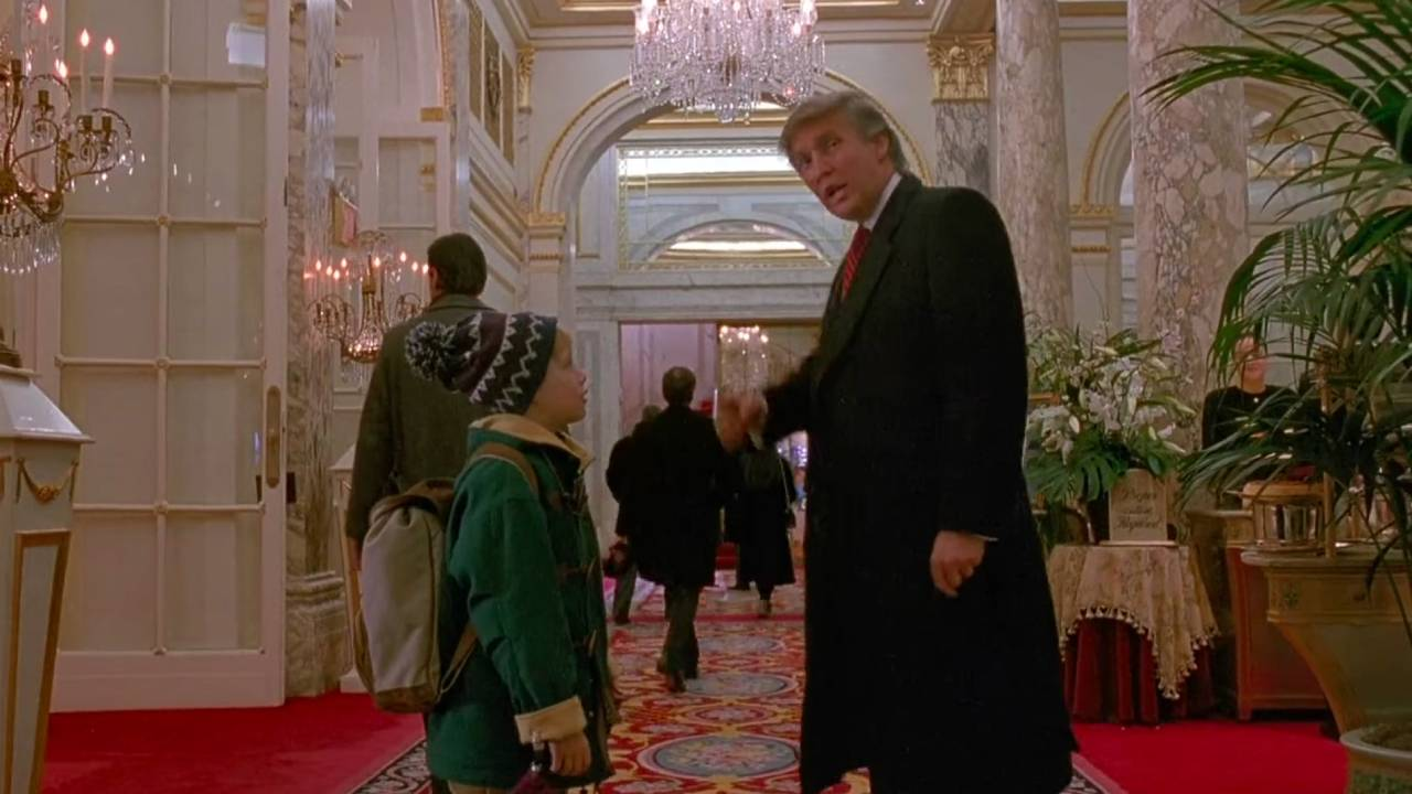 Erase Donald Trump from Mom, I missed the plane again?  Macaulay Culkin is for cutting the US President – cinemablend
