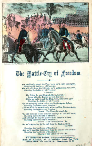 The battle cry of freedom, civil war music