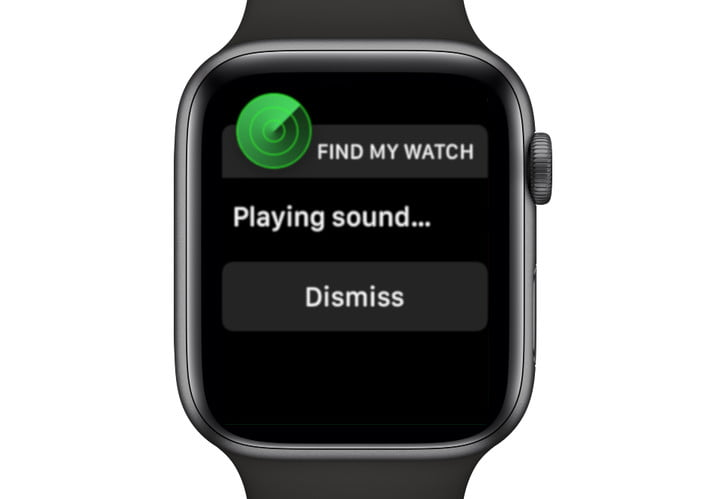 Apple Watch Dismiss Sound