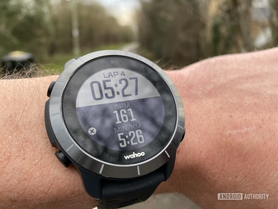 Wahoo Elemnt Rival Review Running