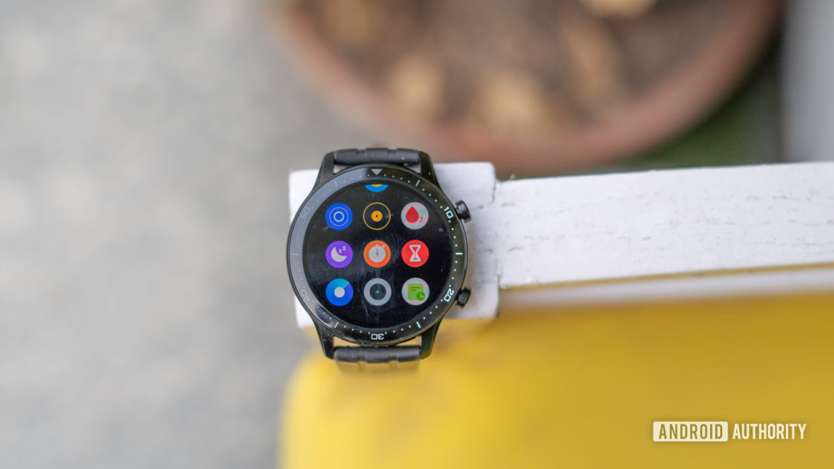 Realme Watch S Pro review with display on