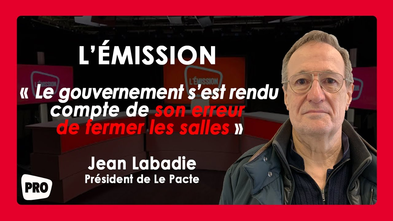 """Boxoffice show # 10: """"Culture is not responsible for the epidemic"""" for Jean Labadie - Actus Ciné"""