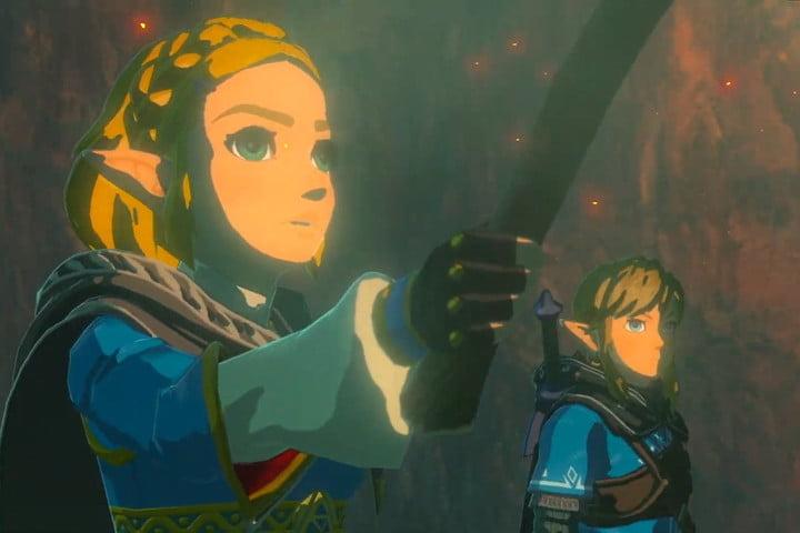 Breath of the Wild 2 Zelda and Link