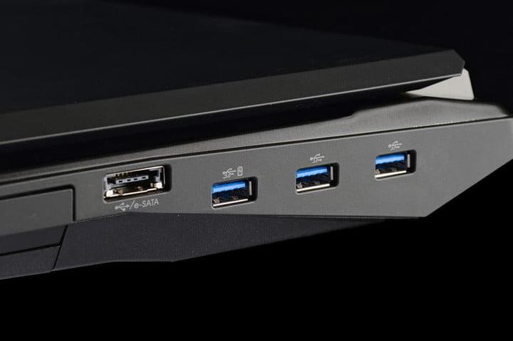 Origin EON17 SLX Review usb ports