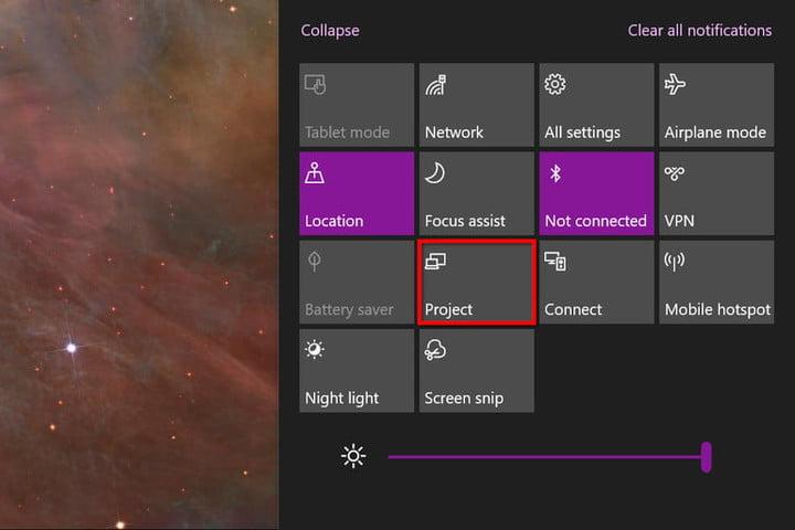 Windows 10 Project Miracast