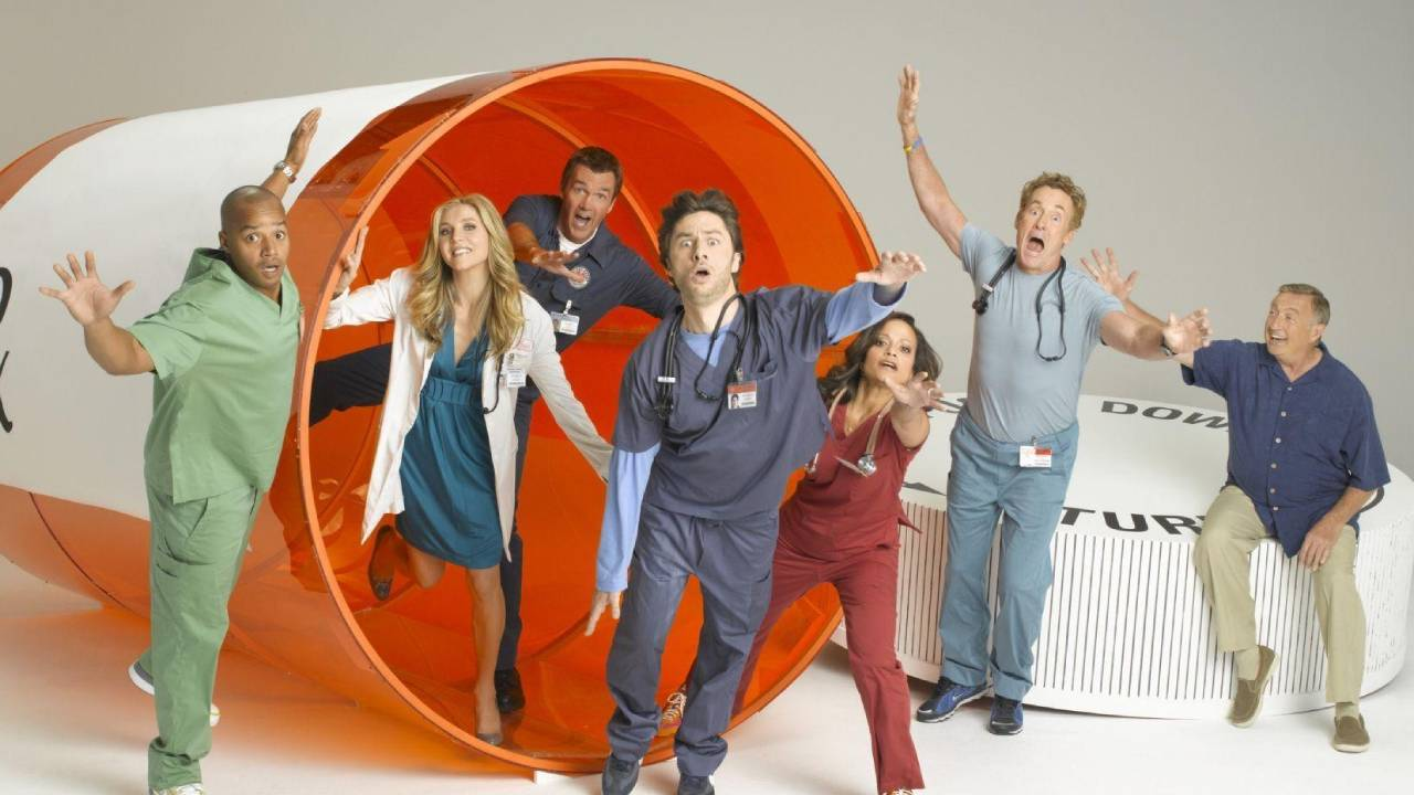 Scrubs on Disney + STAR: why this medical comedy is essential?  - News Series on TV
