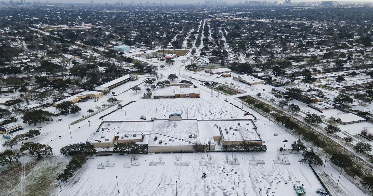 Millions of Texans left shivering in arctic cold without power