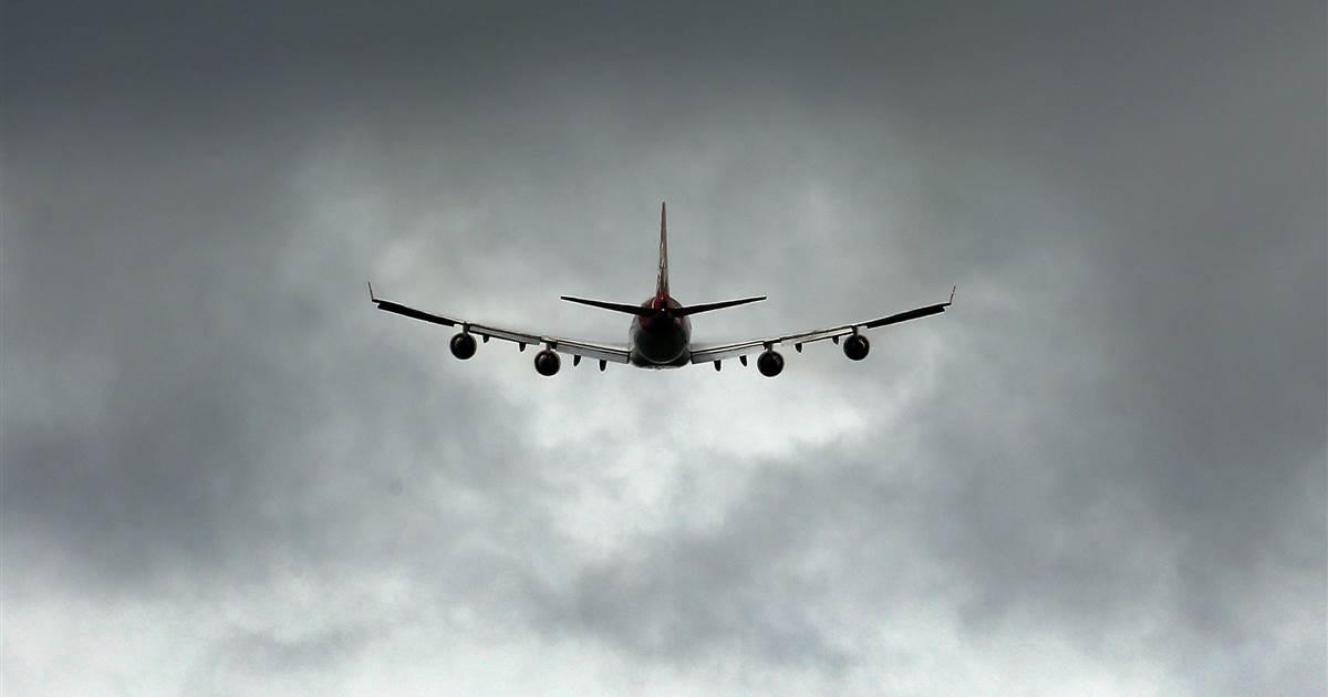 Boeing 747 cargo plane drops engine parts in Netherlands