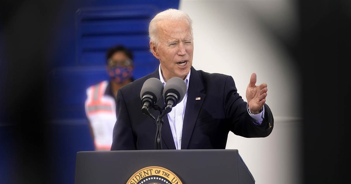 Biden says undocumented immigrants should be able to get Covid vaccine without fear of ICE
