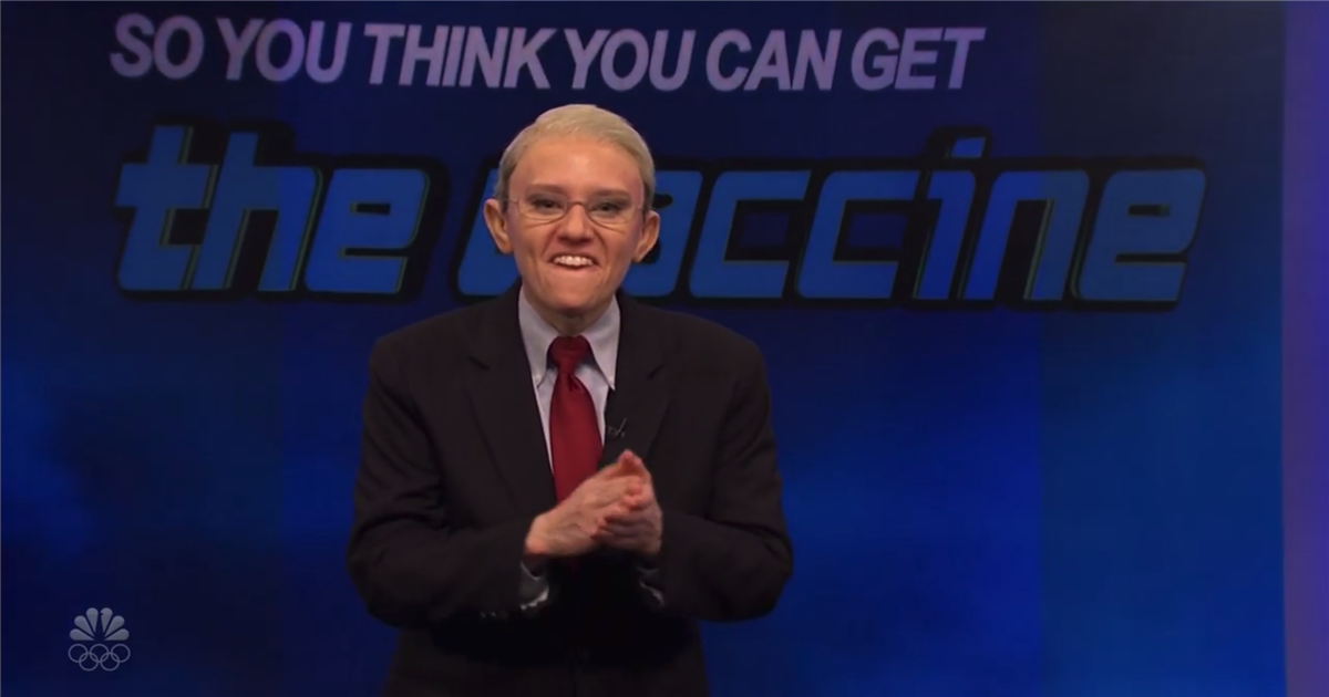 'SNL' takes shots at U.S.'s struggling vaccination rollout