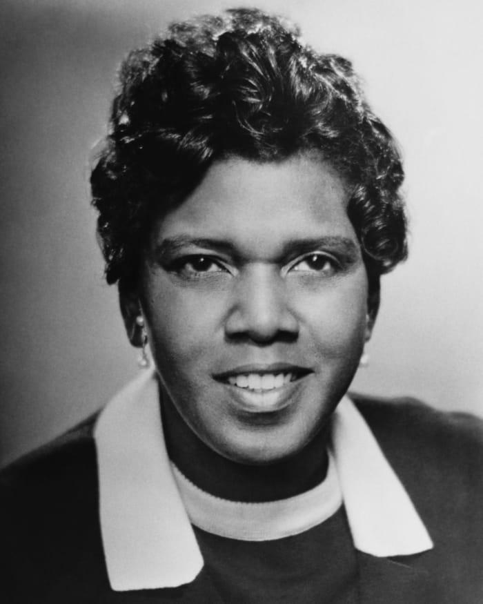 Representative Barbara Jordan, D-Texas