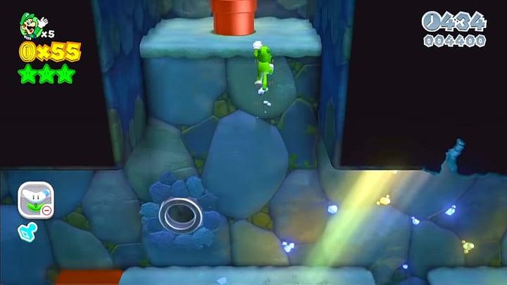 Super Mario 3D World Secret Exit 1