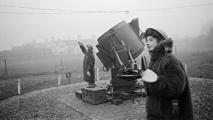 British 'Ack Ack Girls', WWII