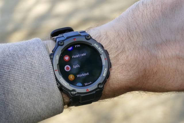 amazfit t rex pro review apps