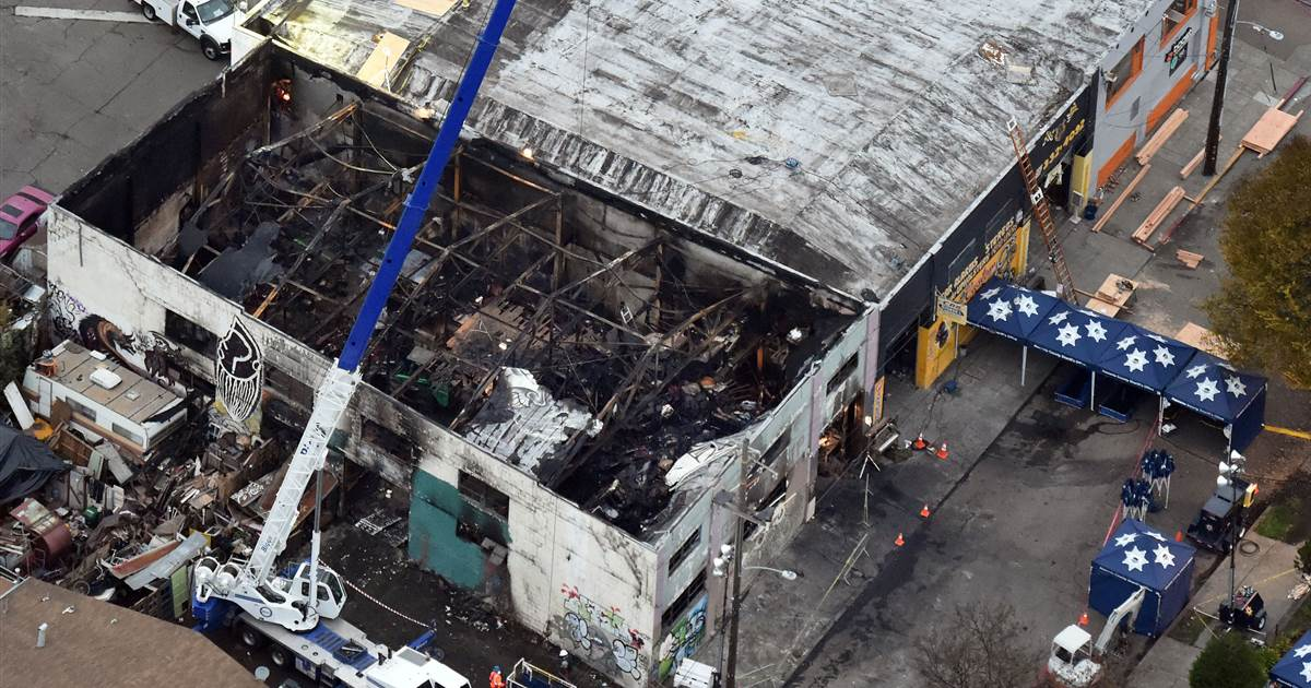 Founder of Ghost Ship warehouse gets nine years in prison in blaze that killed 36