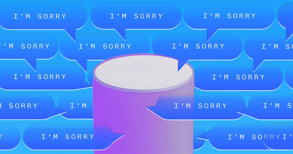 Amazon Echo's Alexa is programmed to always apologize — especially when it's not her fault