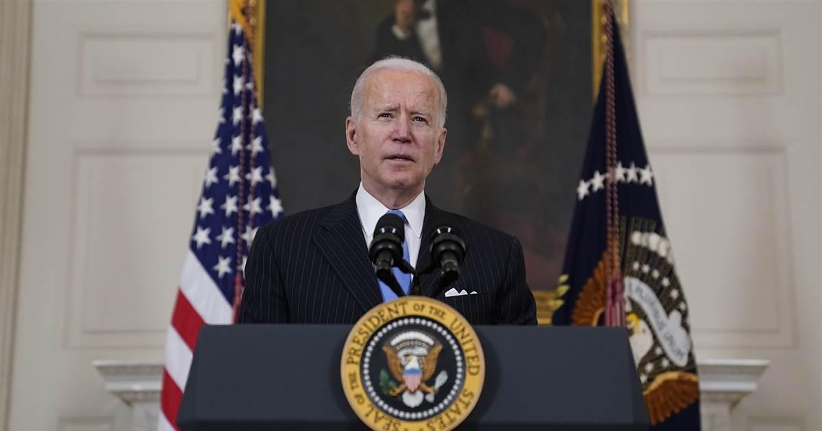 Biden, Senate Democrats agree to limit eligibility for $1,400 checks