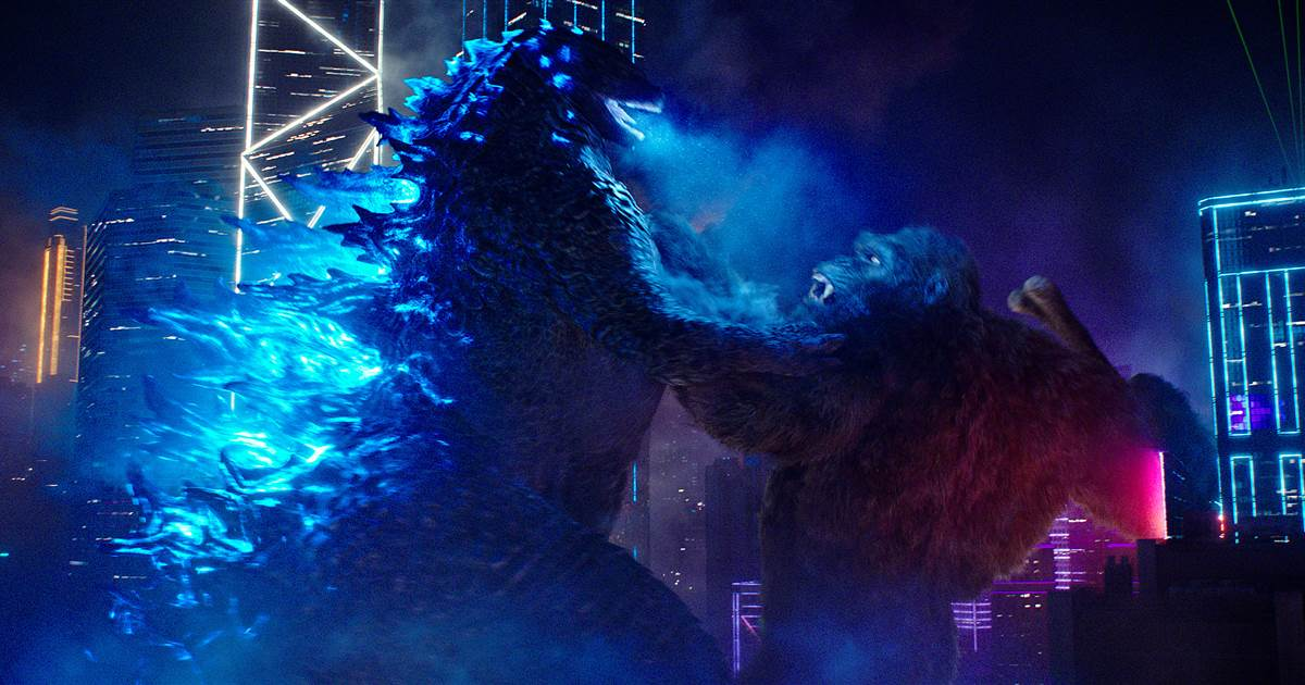 'Godzilla vs. Kong' on HBO Max is comforting —in a mindless monster battle kind of way