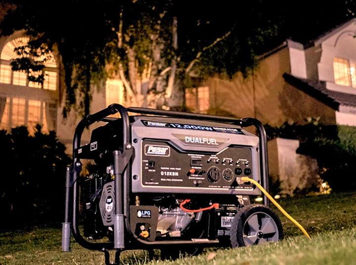 Pulsar G12KBN-SG Heavy Duty Portable Dual Fuel Generator