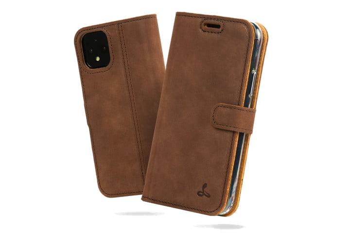 Snakehive Leather Wallet Case for Google Pixel 4