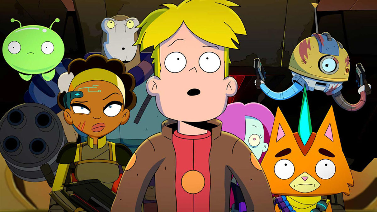"""Final Space: """"We took the Covid-19 in the face during the production of season 3"""" - News Séries on TV"""