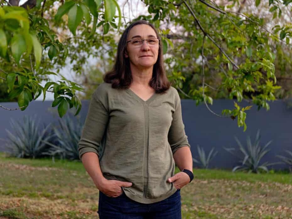 Sarah Porter who is an expert on water policy who directs the Kyl Center for Water Policy at Morrison Institute at ASU at her Phoenix, AZ home on March 29th, 2021.