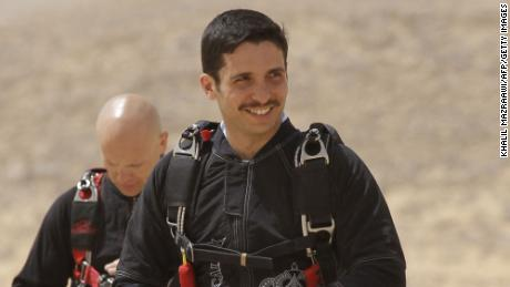 But the prince of Hamzah middle course, and that the matter should a message to the launch of the & quot;  Skydive Jordan quot;  Wadi Rum desert on April 19, 2011.