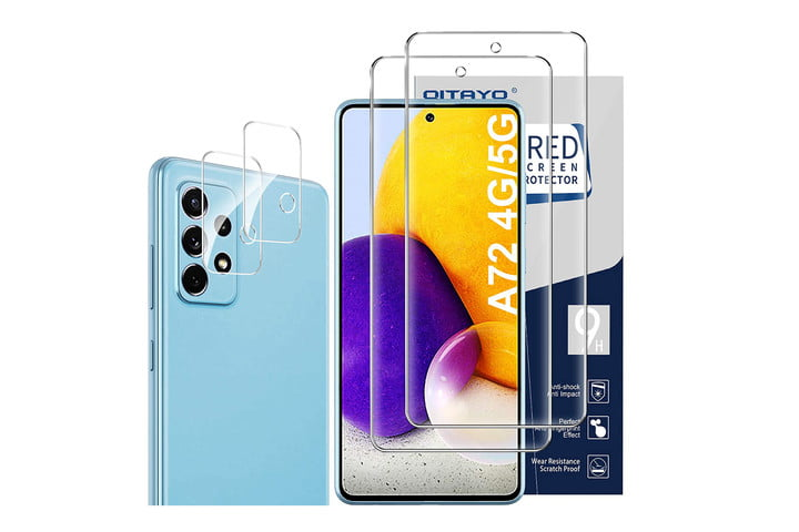 Qitayo 2 Pack Screen Protector for Samsung Galaxy A72
