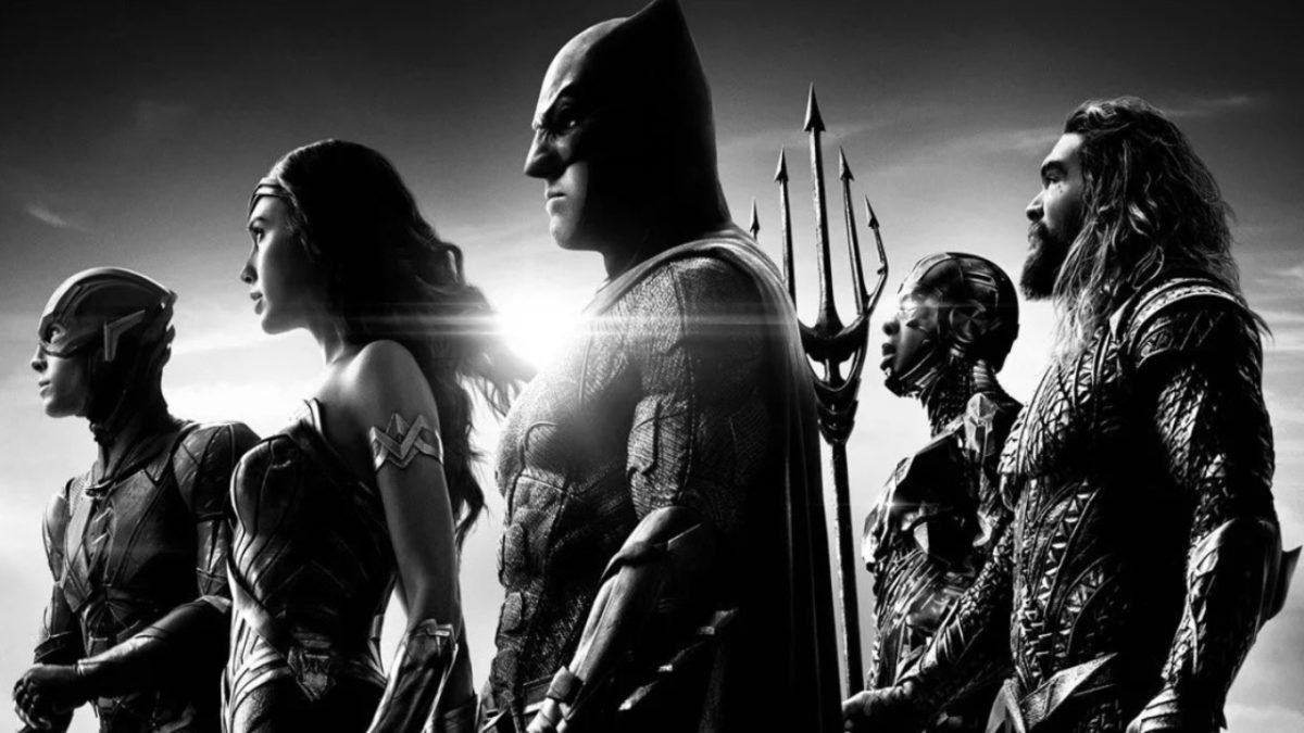 Justice League on OCS: a release date for Zack Snyder's Cut, the black and white version also available