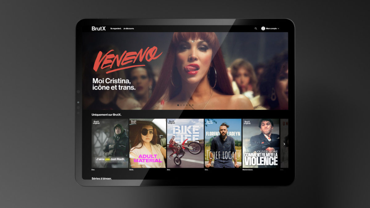 Brut launches BrutX, its new committed streaming platform
